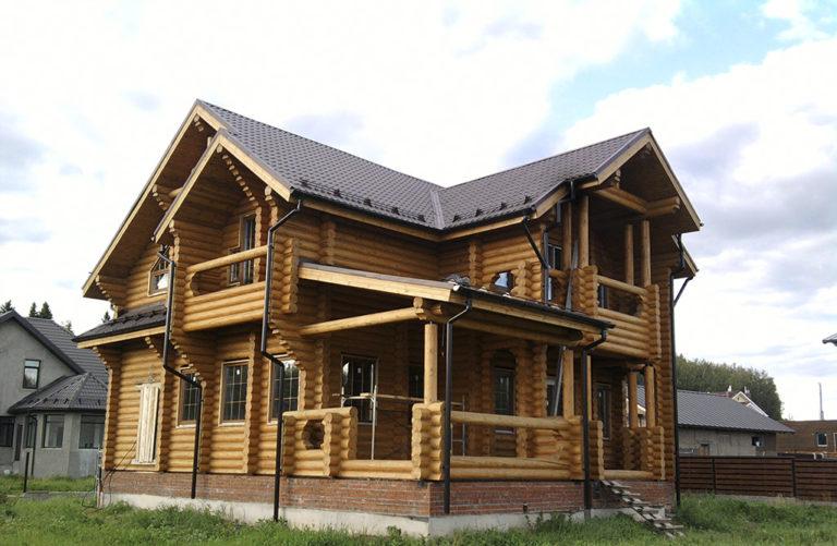 Дома из бревна в Анапе
