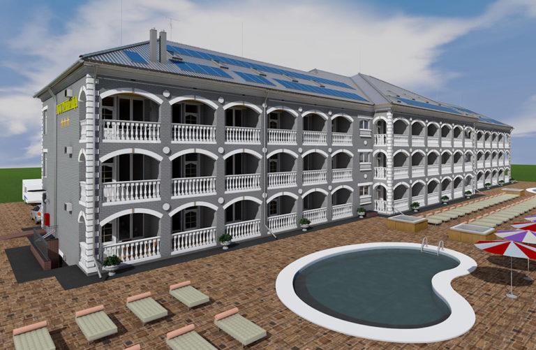 Строительство гостиниц Анапа