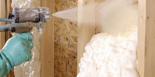 Как правильно утеплить стены пенополиуретаном